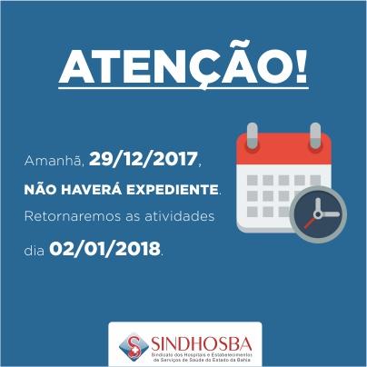 POST FACEBOOK HORÁRIO DE FUNCIONAMENTO ano novo